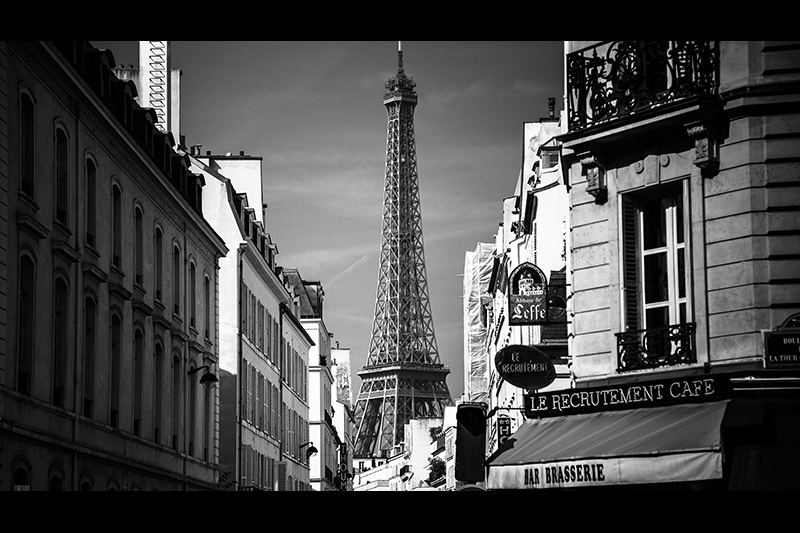 Hubert Ye Hua Photography Paris Effiel Tower